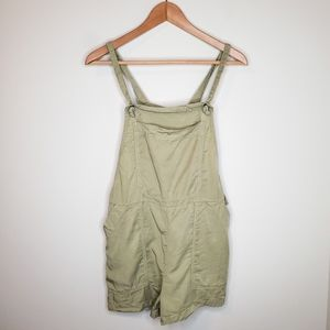 BDG Urban Outfitters Sage Lyocell Short Overalls